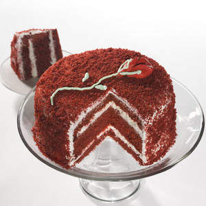 Zabar's Mother's Day Red Velvet Rose Cake