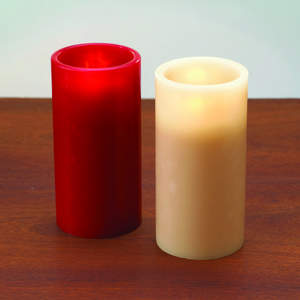 FLAMELESS 6-INCH WAX SENSOR CANDLE