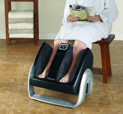 uSQUEEZ FOOT & CALF MASSAGER