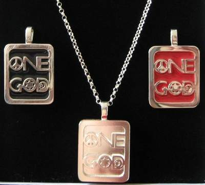 One God Jewelry pendant options