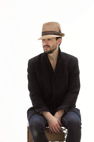 Men's Panama Straw Fedora