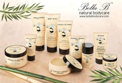 Bella B Natural Bodycare for new moms!