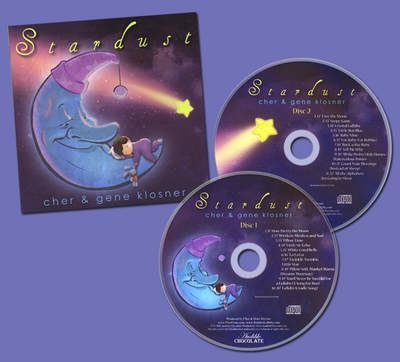 Award-winning 2-disc lullaby collection, Stardust, w/24-page booklet