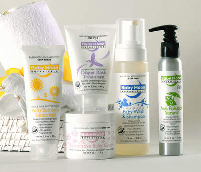 Baby Moon Botanicals Skin Care System