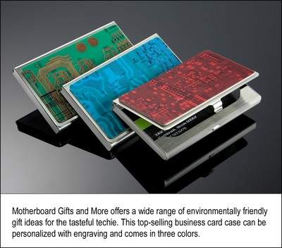 Motherboard Gifts and More Business Card Case