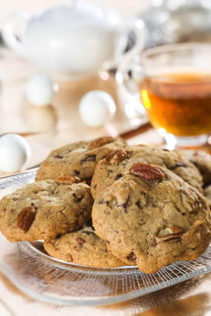 Charleston Cookie Company's signature Chocolate Chip Pecan cookie.
