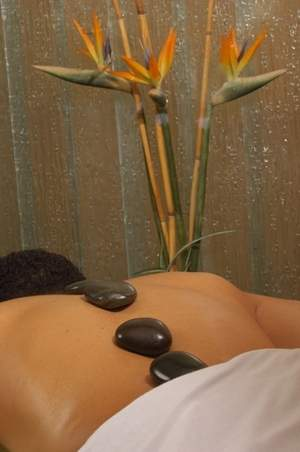 Glen Ivy stone massage