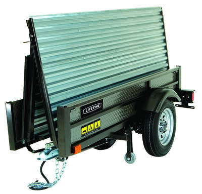 Lifetime's Fold-Up Utility Trailer compacts to 29