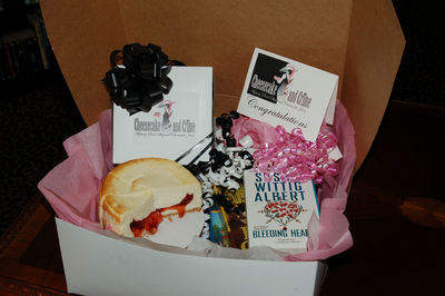 Cheesecake and Crime gift package