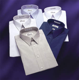 Classix Dress Shirts, tailored fit for 5'9