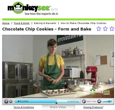 Watch here to make the perfect Chocolate Chip Cookies!
