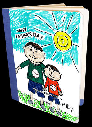 Cover of Completed Father's Day Book