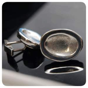 Fingerprint Cuff links