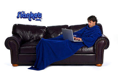 Keep warm and snug in The Slanket