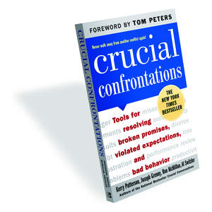 From the authors who wrote Crucial Conversations comes Crucial Confrontations: Tools for Resolving Broken Promises, Violated Expectations, and Bad Behavior