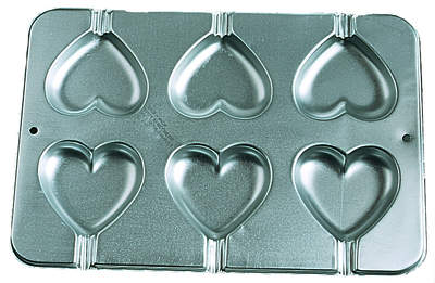 Heart Cookie Treat Pan