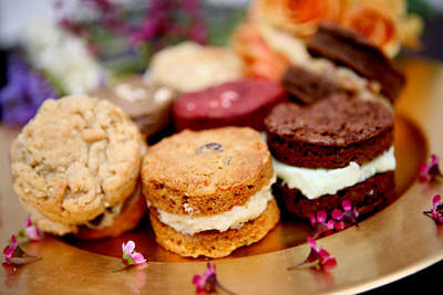 An Assortment of our Cookie Sandwiches