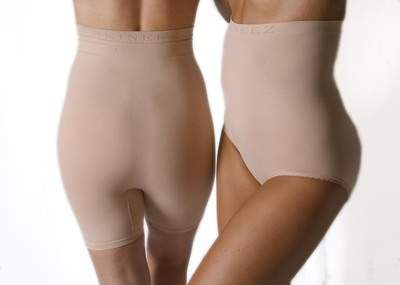 Skineez Skincarewear Thigh Slimmer and Waist Slimmer available exculsively at Macy's and macys.com