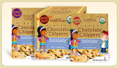 Snikiddy Snacks® Organic Chocolate Chippers