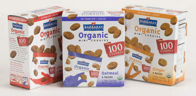 Barbara's Bakery 100 Calorie Organic Mini Cookies