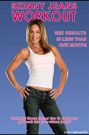 Skinny Jeans Workout DVD Cover