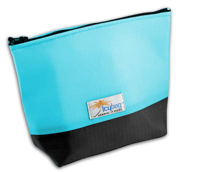 IcyBag insulated and chilled cosmetic & accessory bag