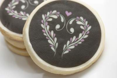 Delicate Heart Cookie