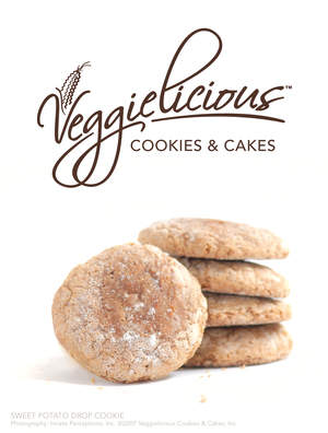 VeggieLicious Cookies- BEST SELLER Sweet Potato Drop Cookies