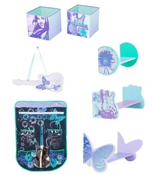 The new Hannah Montana Decor in a Box from Delta Children's Products
