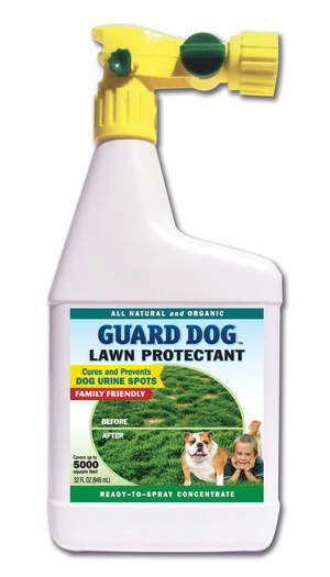 Guard Dog Removes Pet Urine Spots From Your Lawn