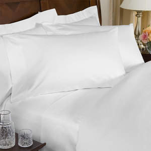 1000TC 100% Egyptian Cotton Single-Ply Sheet Set - Available at SmartBargains.com