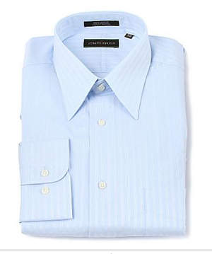 Joseph Abboud Satin Stripe Dress Shirt - Available at SmartBargains.com