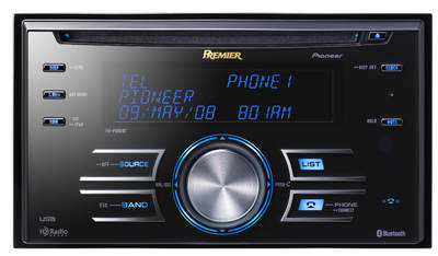 Pioneer's Premier Branded FH-P800BT Single CD Player