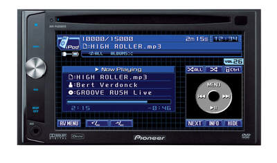 Pioneer's AVH-P400 In-Dash Multimedia System