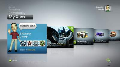 The New Xbox Experience allows you to turn your Xbox 360 into a fully-operational media and entertainment center.