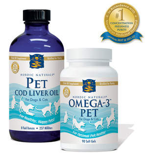 Nordic Naturals pet products keep dogs and cats healthy!
