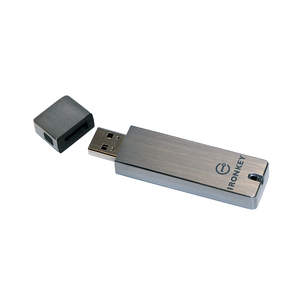 IronKey military-grade, hardware-based, always on USB security technology