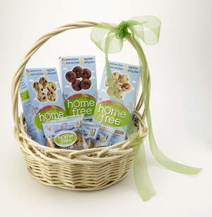 HomeFree: Allergy-free Holiday Cookie Basket