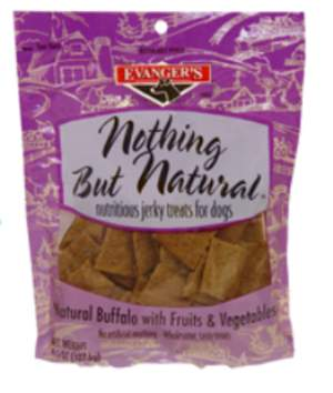 Evanger's Nothing But Natural Jerky Treats