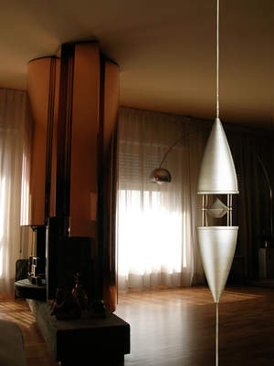 Kayak speaker in living room