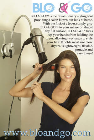 BLO & GO: Like having an extra hand to blow out your hair!