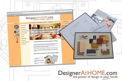 DesignerAtHOME website & Room Design Package