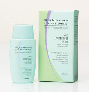 Skin Nutrition with Phytomins Daily UV Defense SPF 25