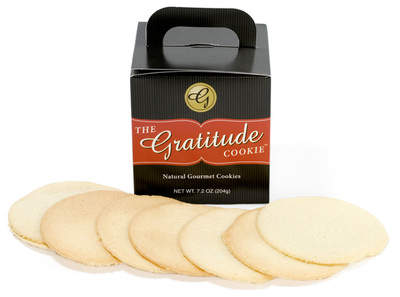 The Gratitude Cookie - What are you grateful for today?
