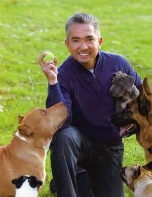Cesar Millan, the famed