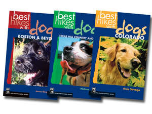 Best Hikes with Dogs guidebooks