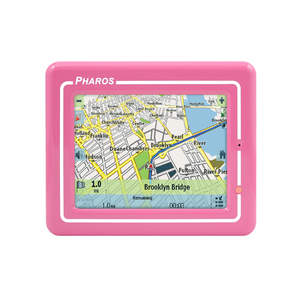 Pharos' Drive GPS 150 comes in a variety of colors so you can accesorize your car with a reliable and stylish personal navigation device.