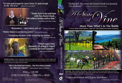 DVD cover of A State of VIne