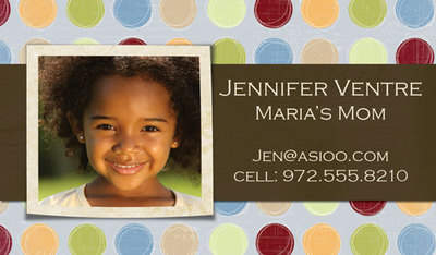 Jennifer Mommy Card