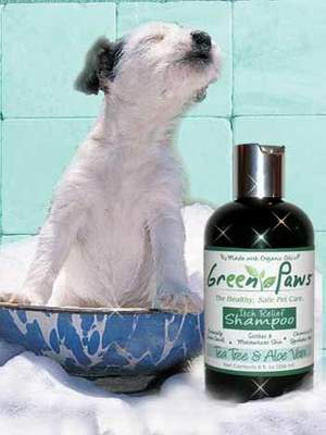 Green Paws Tea Tree & Aloe Vera Dog Shampoo- Certified Organic